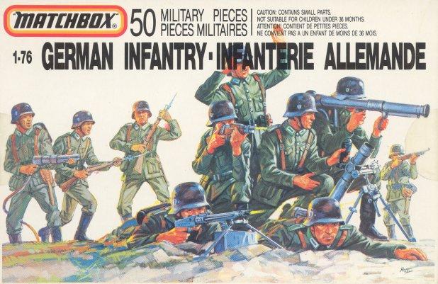 Petits soldats (Airfix, Atlantic, Esci, Matchbox) depuis 1970 German10