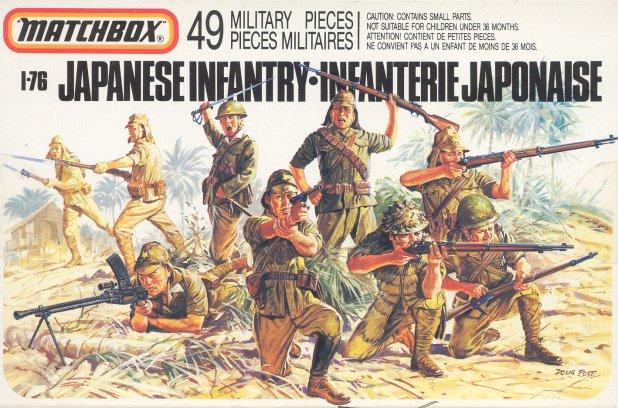 Petits soldats (Airfix, Atlantic, Esci, Matchbox) depuis 1970 Japane10