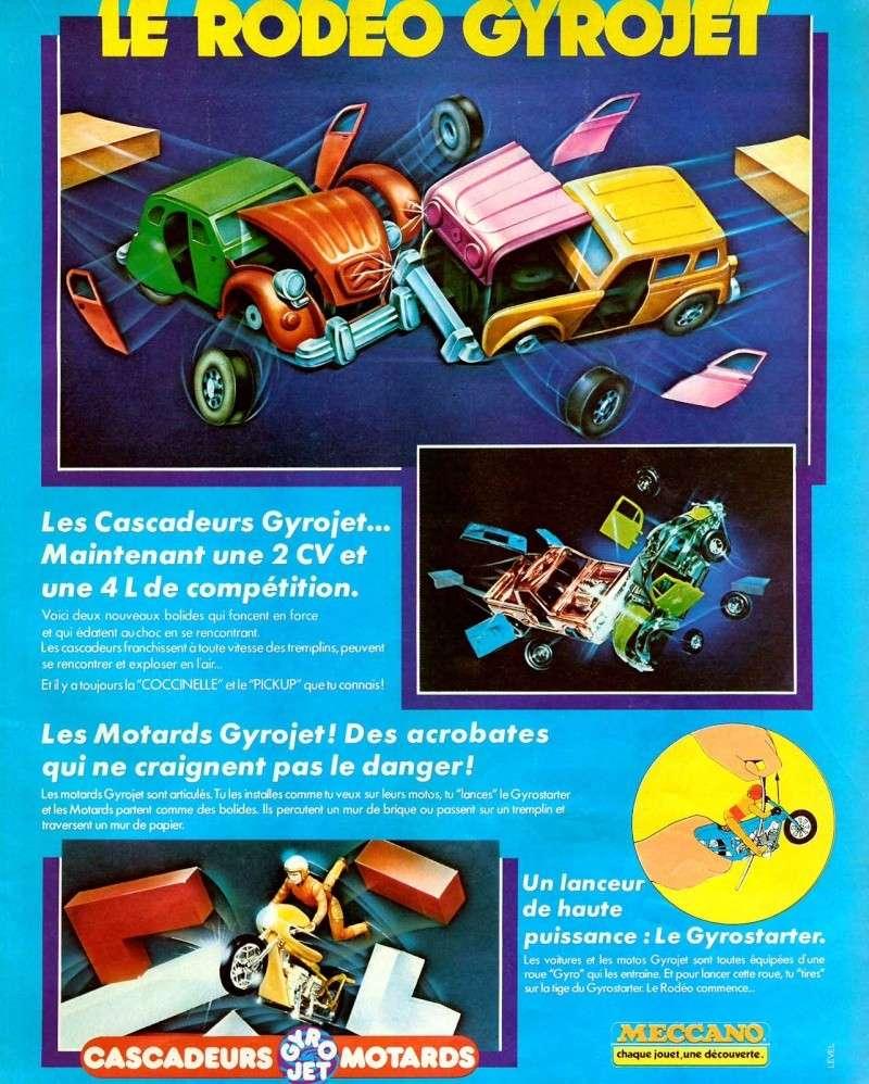 Gyro-jet, girojet les cascadeurs (Kenner/Meccano) 1978 Pub_da10