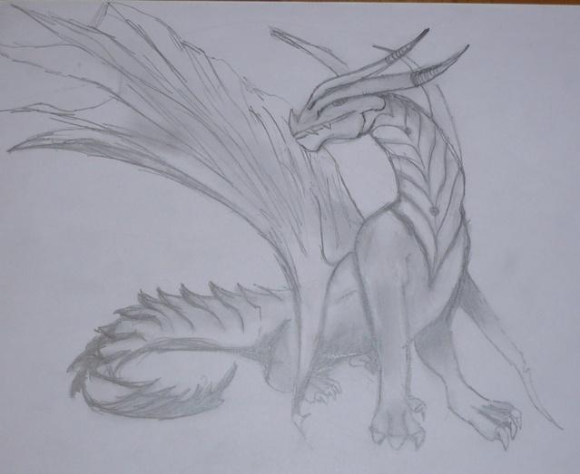 L'art de retrouver de vieux dessins perdus sur un disque dur... Dragon11