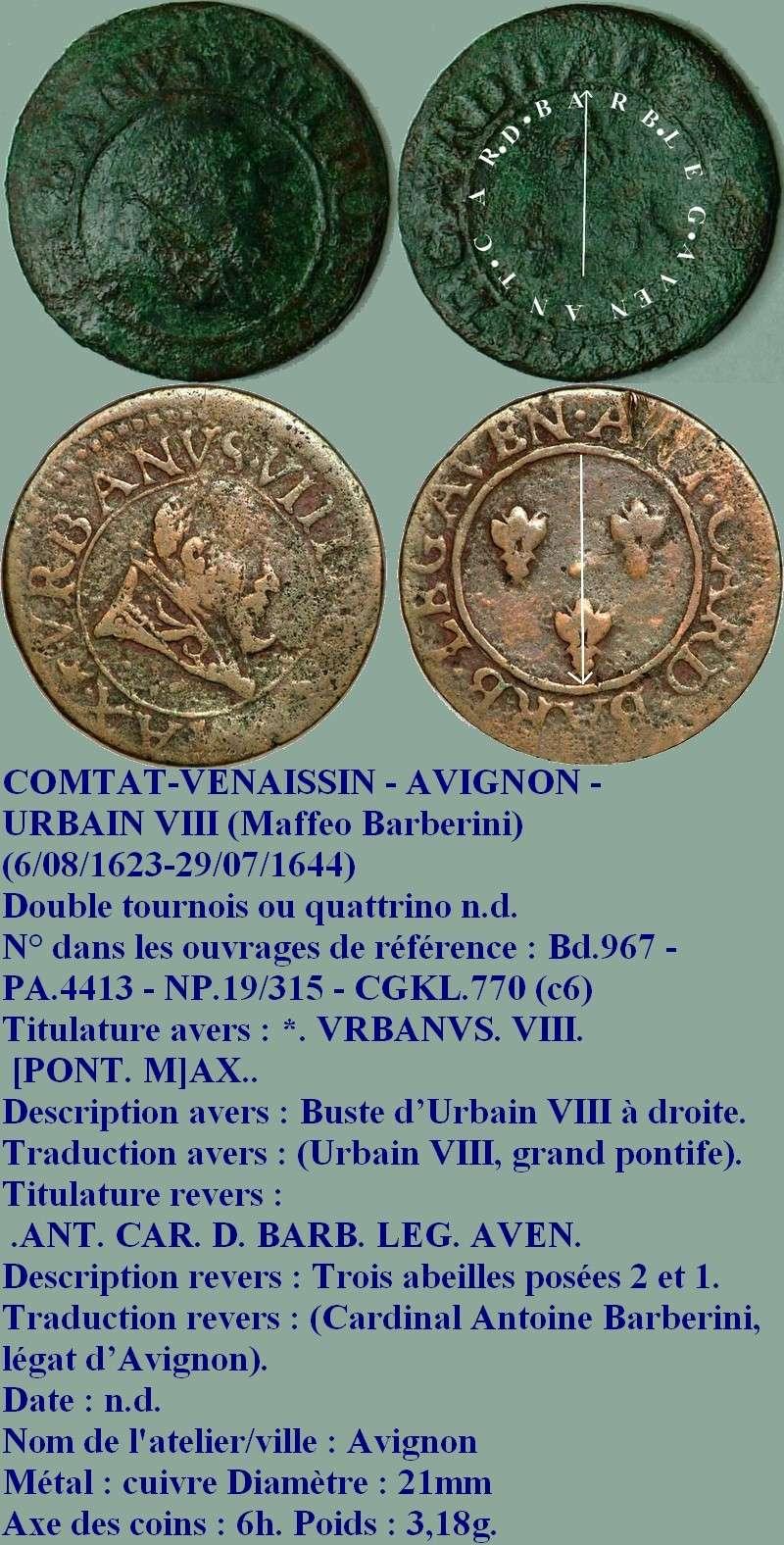 Quatrino Urbain VIII 317a-310
