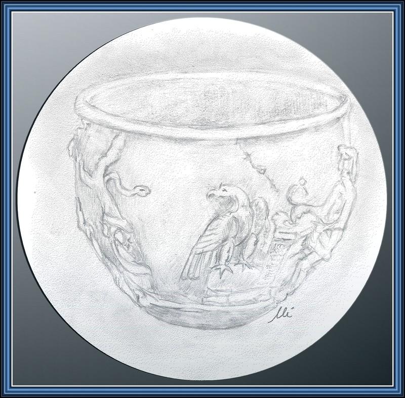 Denier d'argent de la ville d'Apollonia en Illyrie Gobele11