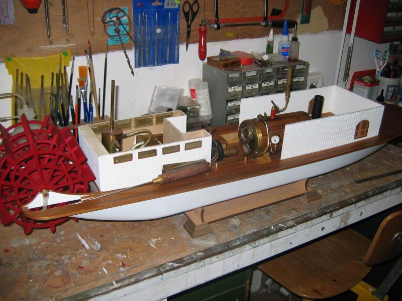 Construction d'un bateau à roue à aube : le Mississippi 1870 001_mi11