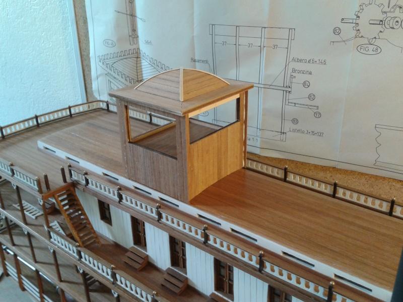 Construction d'un bateau à roue à aube : le Mississippi 1870 001_mi13