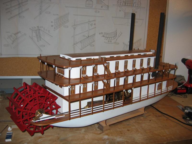 Construction d'un bateau à roue à aube : le Mississippi 1870 002_mi11