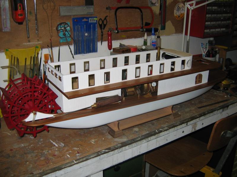 Construction d'un bateau à roue à aube : le Mississippi 1870 003_mi11
