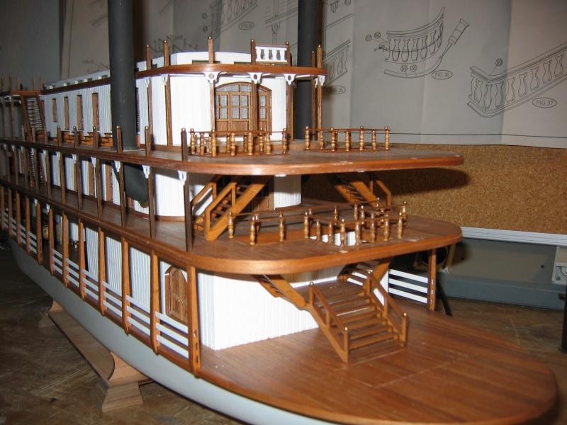 Construction d'un bateau à roue à aube : le Mississippi 1870 004_mi12