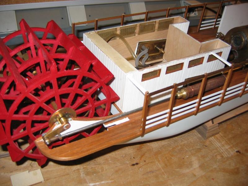 Construction d'un bateau à roue à aube : le Mississippi 1870 005_mi10