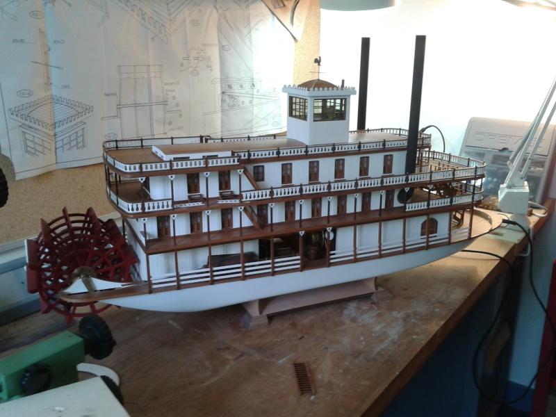 Construction d'un bateau à roue à aubes : le Mississippi 1870 005_mi11