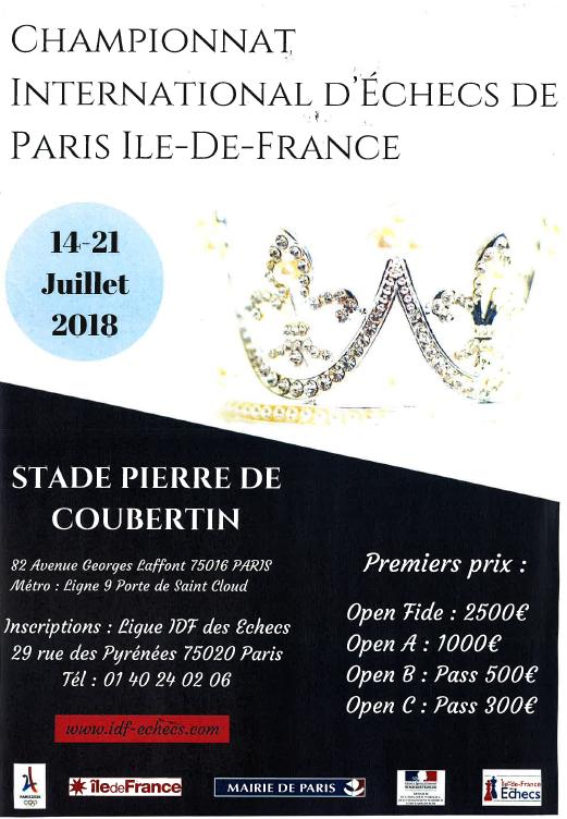 inscription Championnat de Paris 2018 du 14 au 21 juillet Captur10