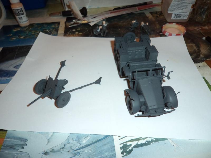 Krupp Protze kfz.69 with 3.7cm Pak Tamiya 1/35 [Terminé] Dsc00918