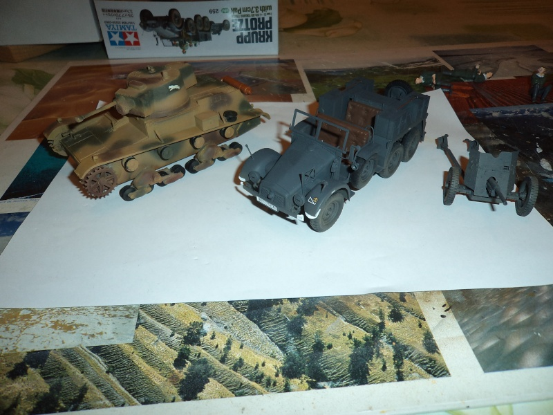 Krupp Protze kfz.69 with 3.7cm Pak Tamiya 1/35 [Terminé] Dsc01115