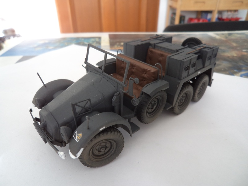 Krupp Protze kfz.69 with 3.7cm Pak Tamiya 1/35 [Terminé] - Page 2 Dsc01116