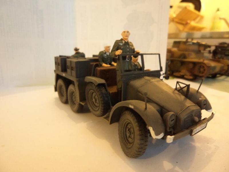 Krupp Protze kfz.69 with 3.7cm Pak Tamiya 1/35 [Terminé] - Page 2 Dsc01119