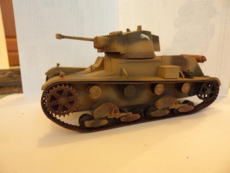 Krupp Protze kfz.69 with 3.7cm Pak Tamiya 1/35 [Terminé] - Page 2 Dsc01121