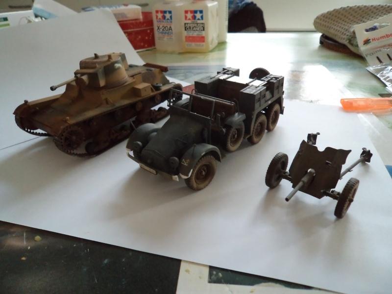 Krupp Protze kfz.69 with 3.7cm Pak Tamiya 1/35 [Terminé] - Page 2 Dsc01124