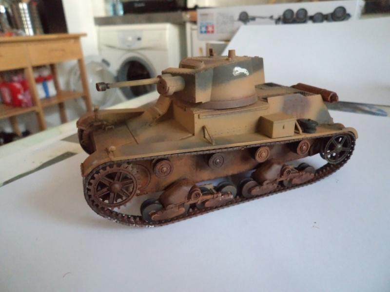 Krupp Protze kfz.69 with 3.7cm Pak Tamiya 1/35 [Terminé] - Page 2 Dsc01125