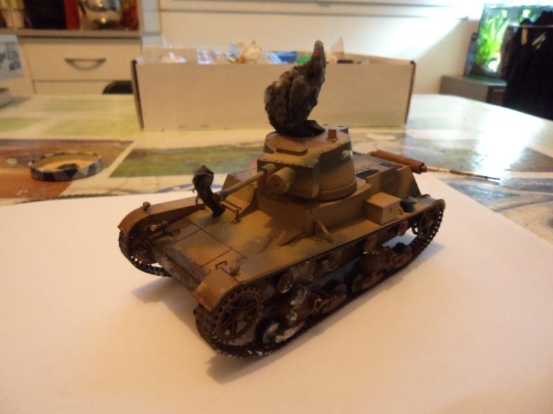 Krupp Protze kfz.69 with 3.7cm Pak Tamiya 1/35 [Terminé] - Page 2 Dsc01130