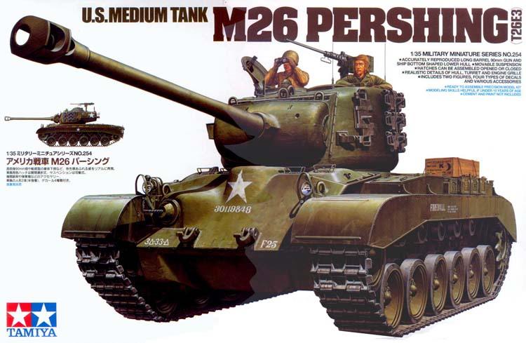 M26 Pershing Tamiya 1/35 Tamiya10
