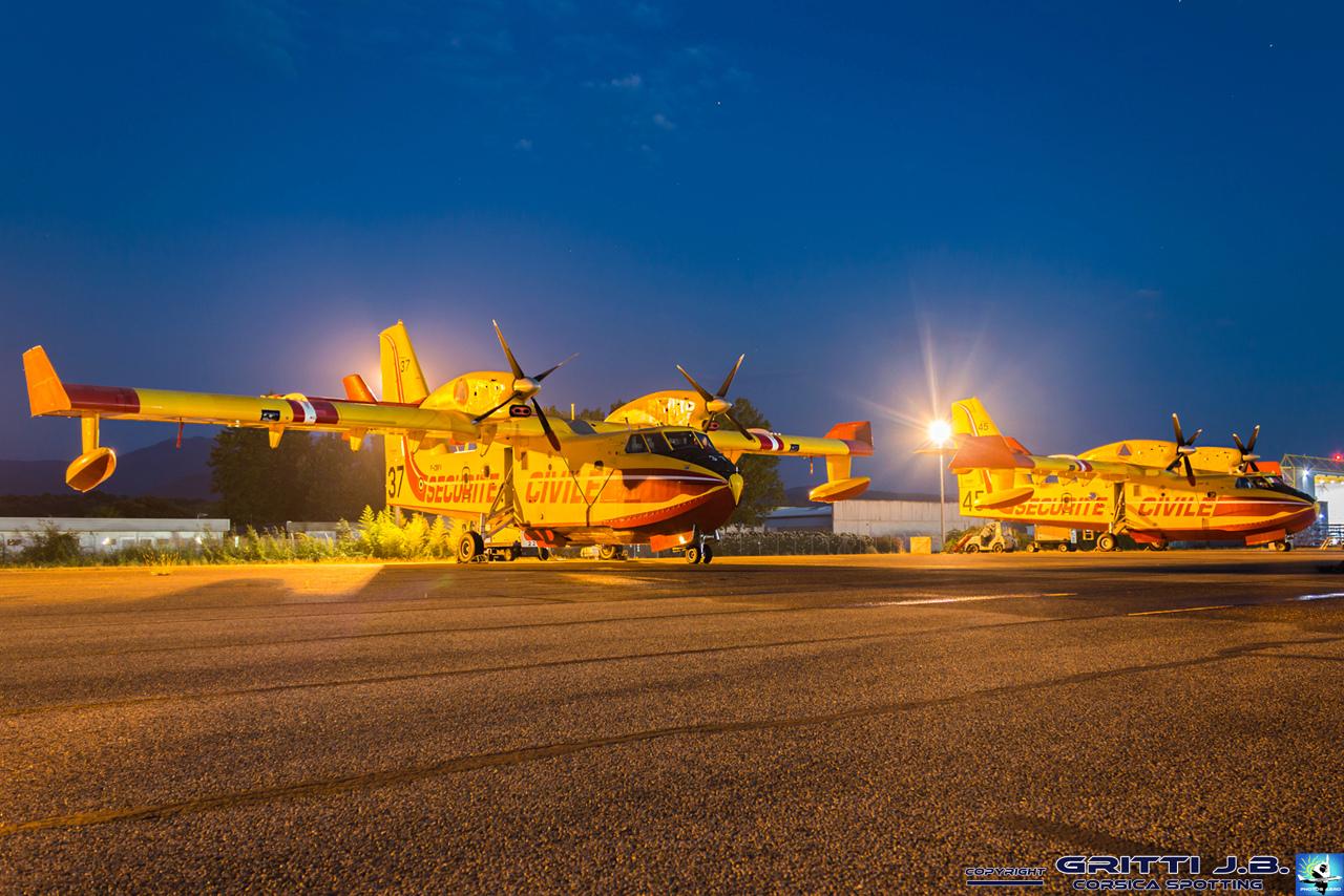 En JAUNE, ROUGE & BLANC, les aéronefs de la Sécurité civile en Corse en 2018. - Page 3 Canada11