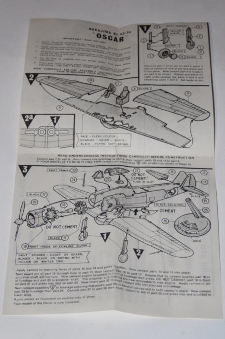 Ki.43-1 Hayabusa Oscar Revell  Img_7512