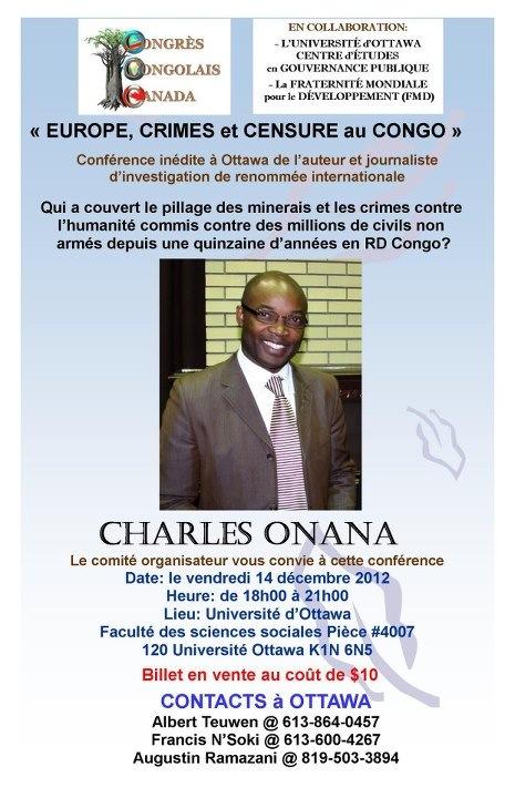 EUROPE, CRIMES ET CENSURE AU CONGO, le nouveau livre très dérangeant de Charles Onana ! Secure10