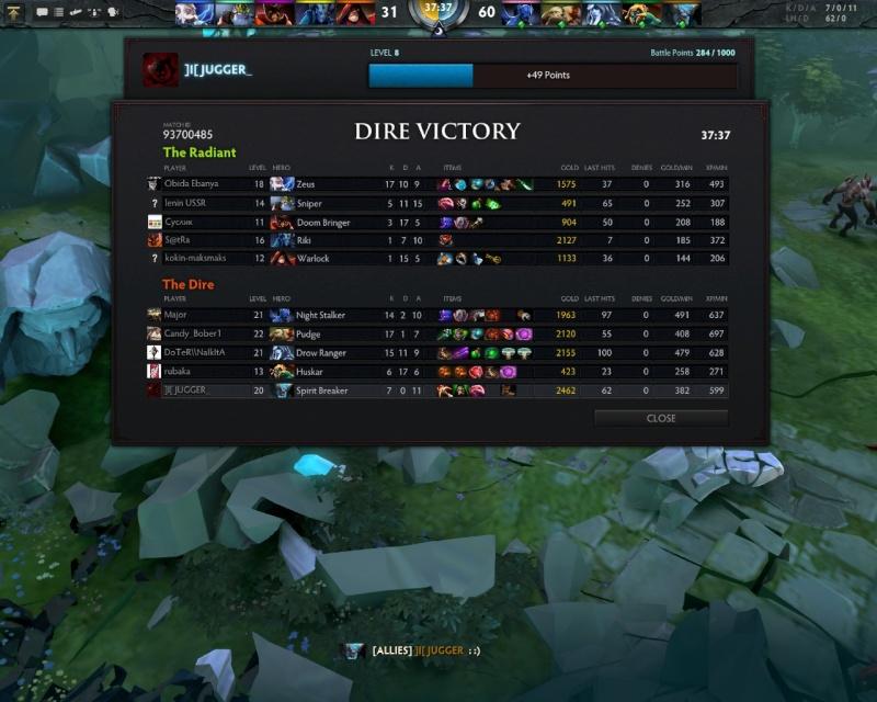 JUGGERNAUT VICTORY SPREE Dota0011