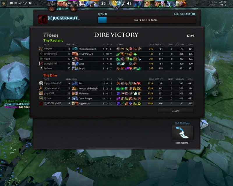 Some of the Awesome games :) Dota0016