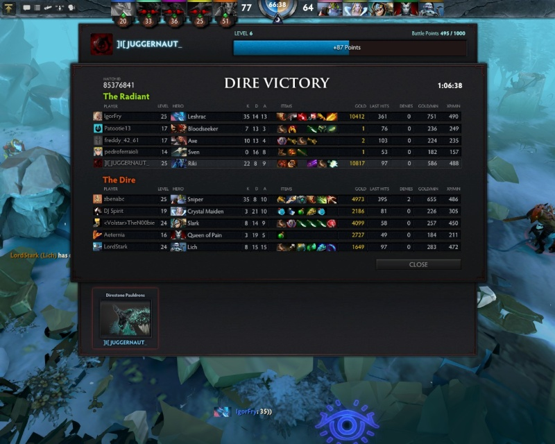 JUGGERNAUT VICTORY SPREE Dota_w13