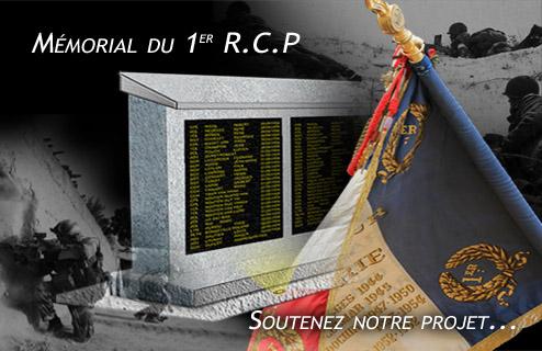 MÉMORIAL DU 1er R. C. P. à Pamiers (Quartier capitaine Beaumont.) 1er_rc10