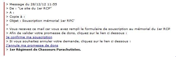 MÉMORIAL DU 1er R. C. P. à Pamiers (Quartier capitaine Beaumont.) 1er_rc12