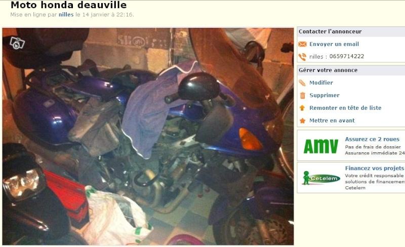 Une Honda Deauville sur le bon coin à 500 euros. Deauvi10