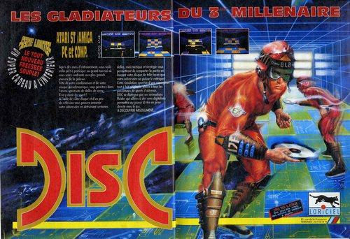 De Pong à Windjammers en passant par Disc Jam Disc1910