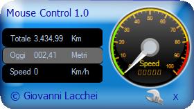 Scoprire il chilometraggio effettuato con il mouse - MouseControl Mousec14