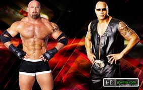 The Rock vs Goldberg recap Gbvr10