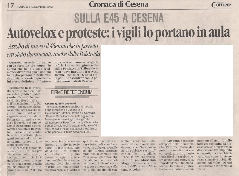 altra assoluzione a cesena 7 dicembre 2012 Corrie10