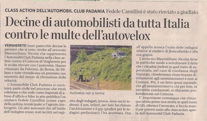 E45 - CLASS ACTION  AUTOMOBILE CLUB PADANIA La_voc11