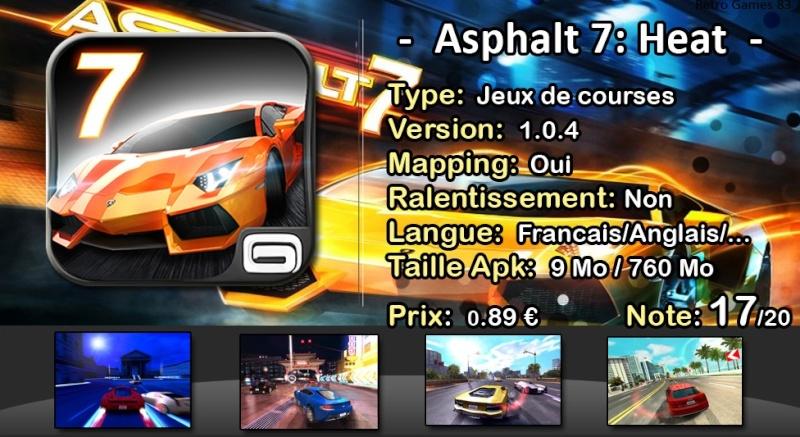 Les jeux Android's bien adaptables à la Gamepad Asphal11