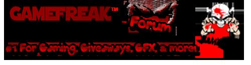 GameFreak™ Forums