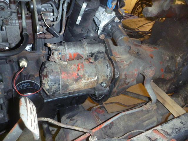 adaptation moteur peugeot sur 411 P1020415
