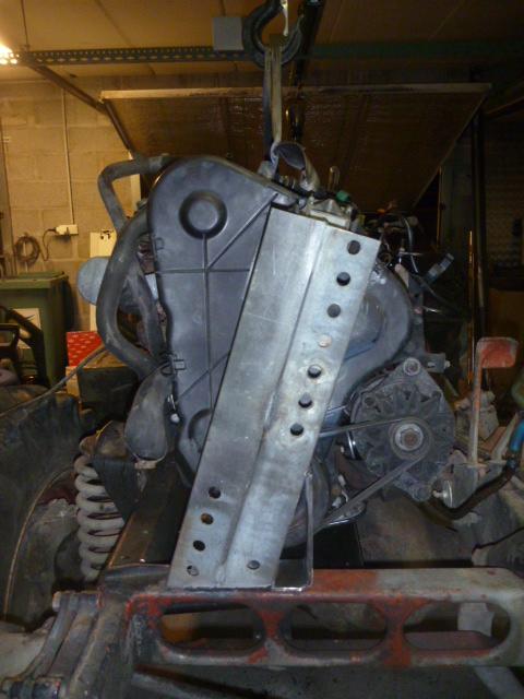 adaptation moteur peugeot sur 411 P1020418