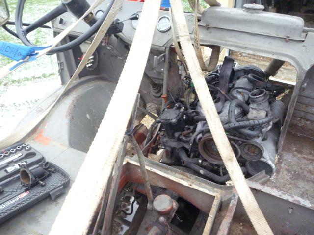 adaptation moteur peugeot sur 411 P1020424
