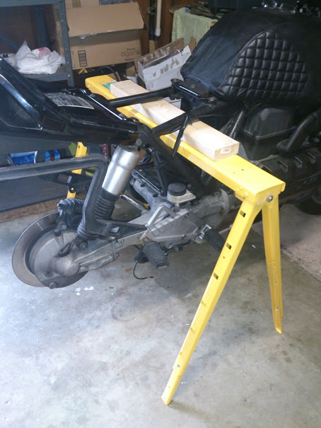 K100RS Clutch fix Sawhor10