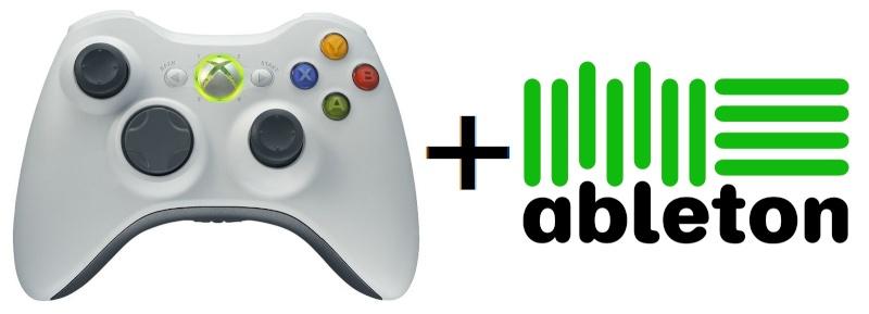 Using a XBOX 360  Controller as MIDI Controller Pt 1 Ableto10