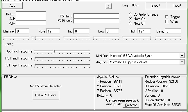 Using a XBOX 360  Controller as MIDI Controller Pt 1 Img1_b10