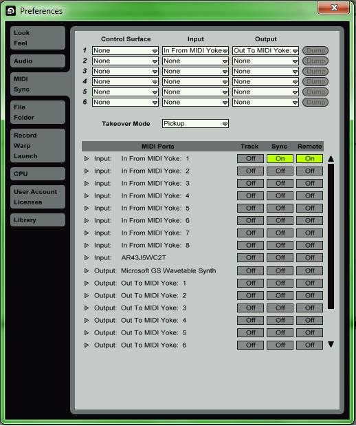 Using a XBOX 360  Controller as MIDI Controller Pt 1 Img5_b10