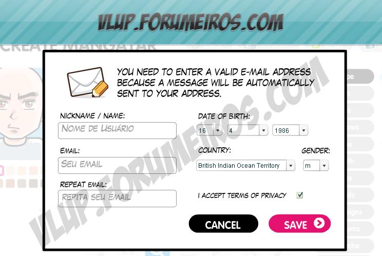Crie seu Avatar online 312