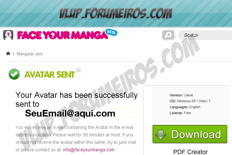 Crie seu Avatar online 512