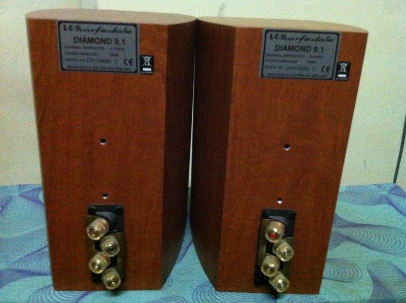 NAD integrated amp 320BEE + Wharfedale Diamond 9.1 bookshelf speaker (SOLD) Img_6612