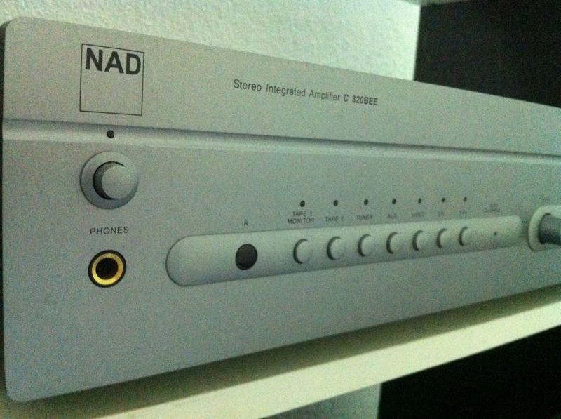 NAD integrated amp 320BEE + Wharfedale Diamond 9.1 bookshelf speaker (SOLD) Img_6613